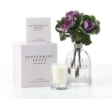 Peppermint Grove at Personalised Candles and Gifts