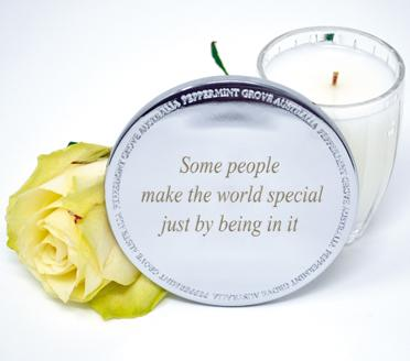 Personalised Candles and Gifts Candle Lid