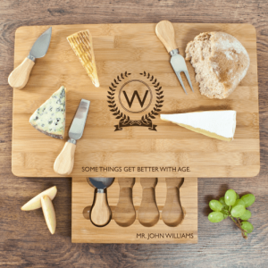 The Importance of Age Large Bamboo Cheese Board 1